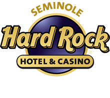 Seminole Hard Rock Hotel & Casino Logo, White
