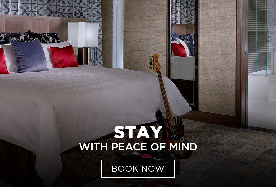 Stay With Peace of Mind. Book Now.