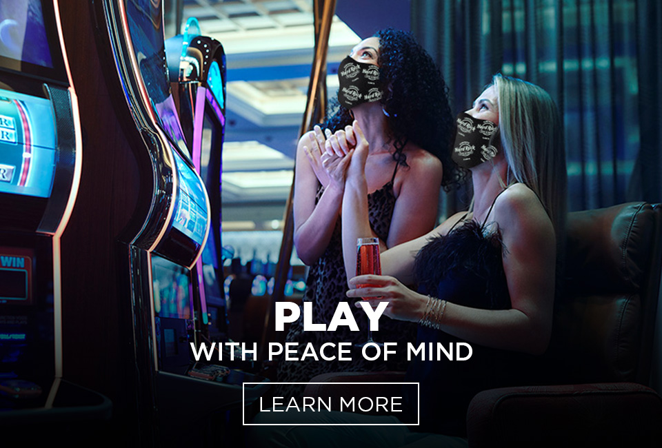 Play With Peace of Mind. Learn More.
